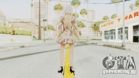 Dead Or Alive 5 LR - Christie Casual New Hair для GTA San Andreas третий скриншот