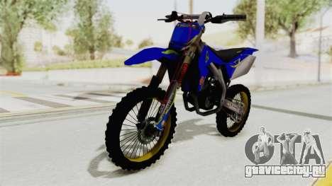 Suzuki RM-Z 450 Gendarmerie v0.2 для GTA San Andreas