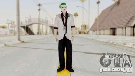 The Joker from Suicide Squad Re-Textured для GTA San Andreas второй скриншот
