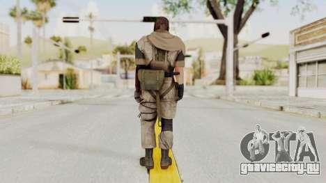 MGSV The Phantom Pain Venom Snake Sc No Patch v3 для GTA San Andreas третий скриншот