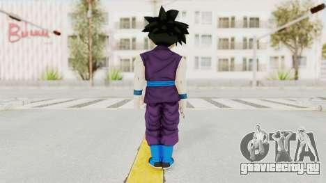 Dragon Ball Xenoverse Gohan Teen DBS SJ v1 для GTA San Andreas третий скриншот