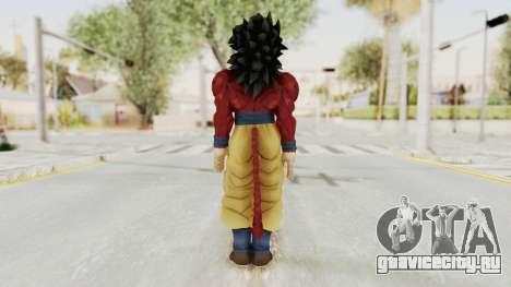Dragon Ball Xenoverse Goku SSJ4 для GTA San Andreas третий скриншот
