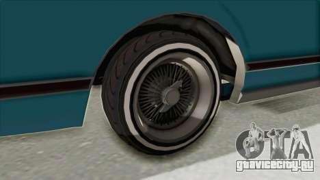 GTA 5 Dundreary Virgo Classic Custom v3 для GTA San Andreas вид изнутри