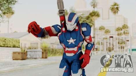 Marvel Heroes - Iron Patriot для GTA San Andreas