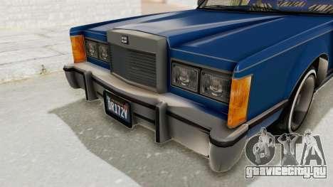GTA 5 Dundreary Virgo Classic Custom v1 IVF для GTA San Andreas вид сверху