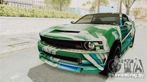 GTA 5 Vapid Dominator v2 SA Style для GTA San Andreas колёса