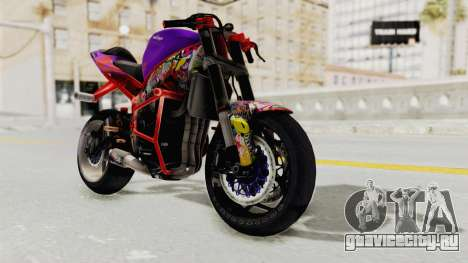 Kawasaki Ninja ZX-6R Stunter для GTA San Andreas