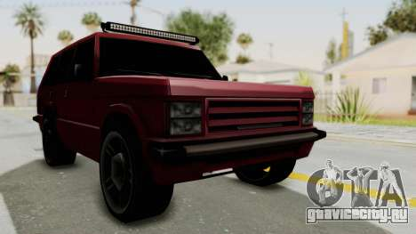 Huntley LR для GTA San Andreas вид справа