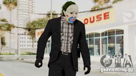 Joker Heist Outfit GTA 5 Style для GTA San Andreas