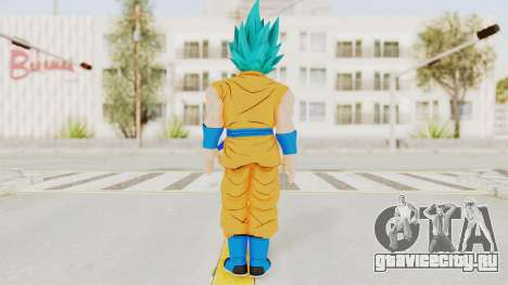 Dragon Ball Xenoverse Goku SSGSS V2.0 для GTA San Andreas третий скриншот