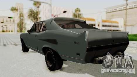 Chevrolet Nova 1969 StreetStyle для GTA San Andreas вид слева