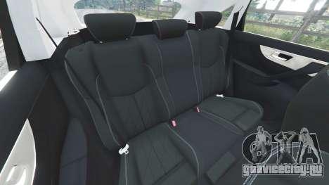 Infiniti FX S50 для GTA 5 руль и приборная панель