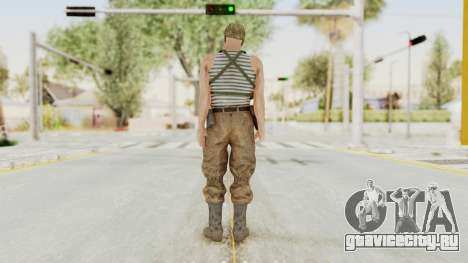 MGSV The Phantom Pain Soviet Union Tanktop v2 для GTA San Andreas третий скриншот