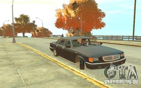 ГАЗ 3110 для GTA 4 вид слева