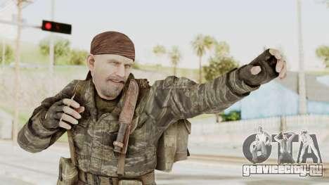 COD BO SOG Reznov v1 для GTA San Andreas