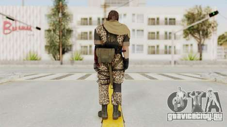 MGSV The Phantom Pain Venom Snake Sc No Patch v8 для GTA San Andreas третий скриншот