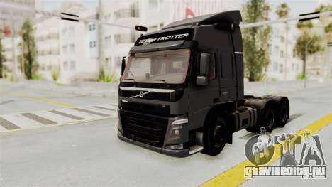 Volvo FM Euro 6 6x4 v1.0 для GTA San Andreas вид справа