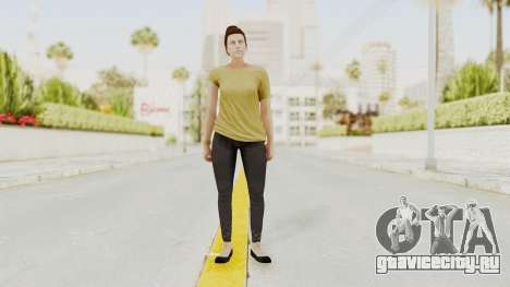 GTA 5 Online Female Skin 1 для GTA San Andreas второй скриншот
