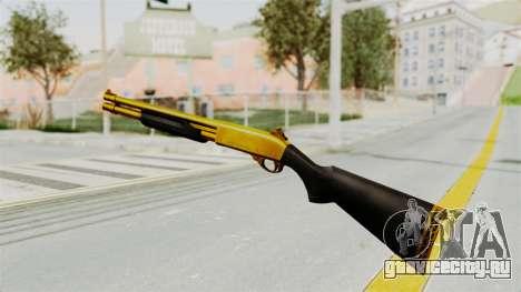 Remington 870 Gold для GTA San Andreas третий скриншот