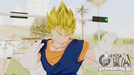 Dragon Ball Xenoverse Vegito SSJ для GTA San Andreas