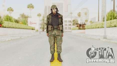 MGSV Ground Zeroes US Pilot v2 для GTA San Andreas второй скриншот