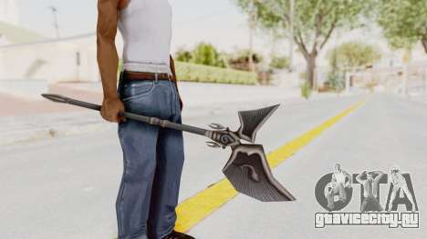 Ei Of The Water Weapon для GTA San Andreas третий скриншот