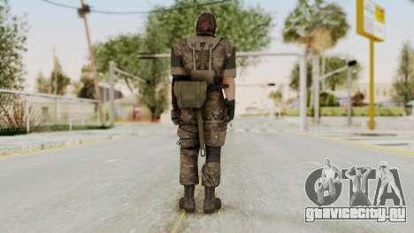 MGSV The Phantom Pain Venom Snake No Eyepatch v9 для GTA San Andreas третий скриншот