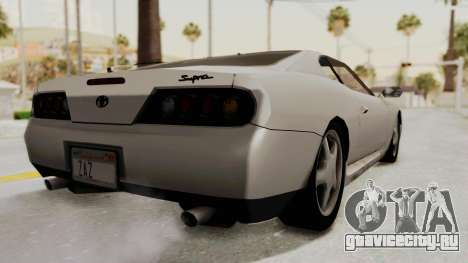 Jester Supra для GTA San Andreas вид слева