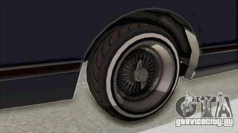 GTA 5 Dundreary Virgo Classic Custom v2 IVF для GTA San Andreas вид сзади