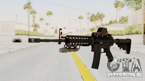 AR-15 with Eotech 552 and Flashlight для GTA San Andreas