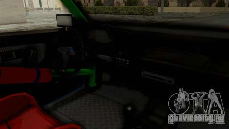 Honda Civic EF9 HellaFlush для GTA San Andreas вид изнутри