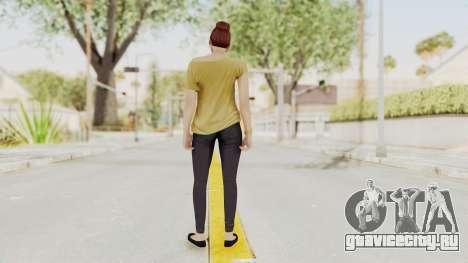 GTA 5 Online Female Skin 1 для GTA San Andreas третий скриншот