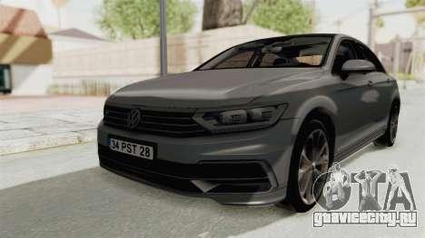 Volkswagen Passat B8 2016 RLine HQLM для GTA San Andreas