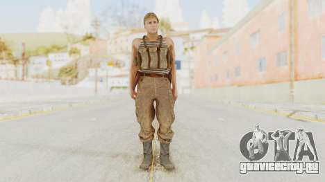MGSV The Phantom Pain Soviet Union Tanktop v2 для GTA San Andreas второй скриншот
