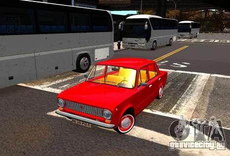 ВАЗ 21011 Заводской для GTA 4 вид сзади слева