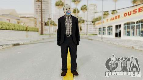 Joker Heist Outfit GTA 5 Style для GTA San Andreas второй скриншот