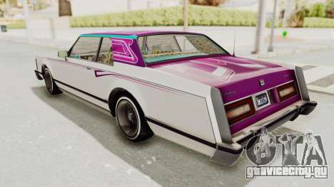GTA 5 Dundreary Virgo Classic Custom v2 IVF для GTA San Andreas колёса