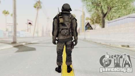 CoD MW3 Russian Military LMG Black для GTA San Andreas третий скриншот