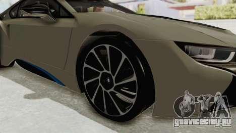 BMW i8-VS 2015 для GTA San Andreas вид сзади