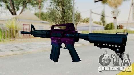 Vice M4 для GTA San Andreas второй скриншот