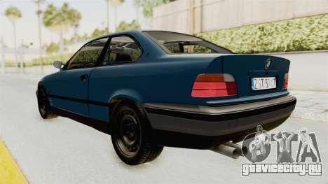 BMW 325i E36 для GTA San Andreas вид слева