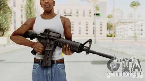 HD M4 v1 для GTA San Andreas третий скриншот