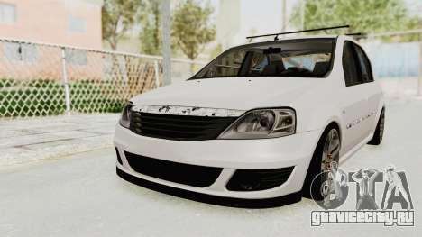 Dacia Logan 2013 для GTA San Andreas