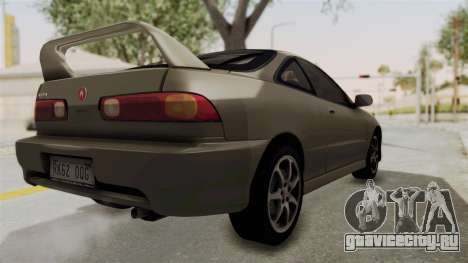 Acura Integra Fast N Furious для GTA San Andreas вид слева