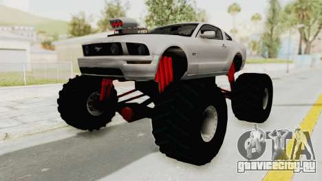 Ford Mustang 2005 Monster Truck для GTA San Andreas