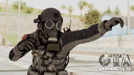 CoD MW3 Russian Military LMG Black для GTA San Andreas