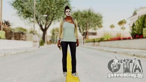 GTA 5 Denise Clinton v1 для GTA San Andreas второй скриншот