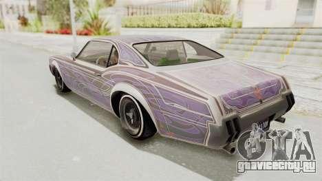 GTA 5 Declasse Sabre GT2 A для GTA San Andreas