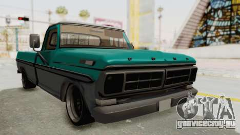 Ford F-150 Black Whells Edition для GTA San Andreas вид справа