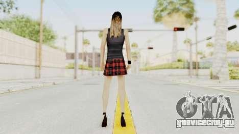 New Skin Michelle для GTA San Andreas третий скриншот